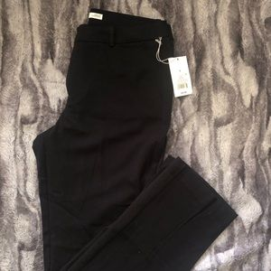 a•new•day black straight leg dress pants